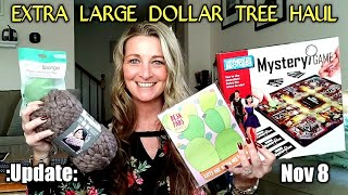 EXTRA LARGE Dollar Tree Haul 💕 DIY Ideas💕 Update