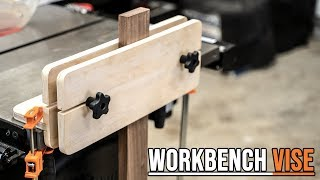 How to make a Workbench Vise ( DIY MOXON VISE )