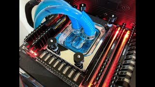 AMD Threadripper at 4GHz with XSPC RayStorm Waterblock