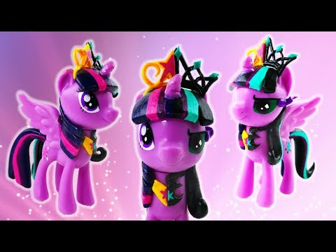 Twivine Sparkle and Twilight Sparkle Split Pony Transformation My Little Pony Custom