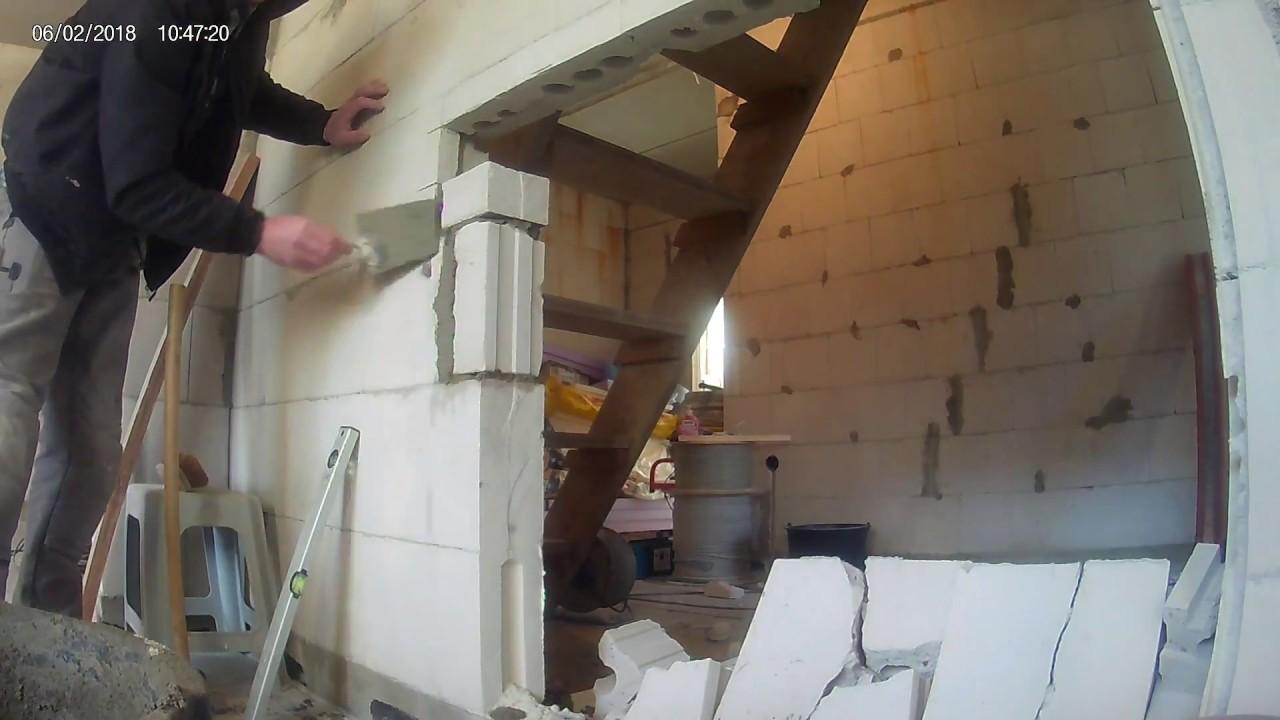 Wanddurchbruch, Türsturz nachträglich einbauen How to install a ...