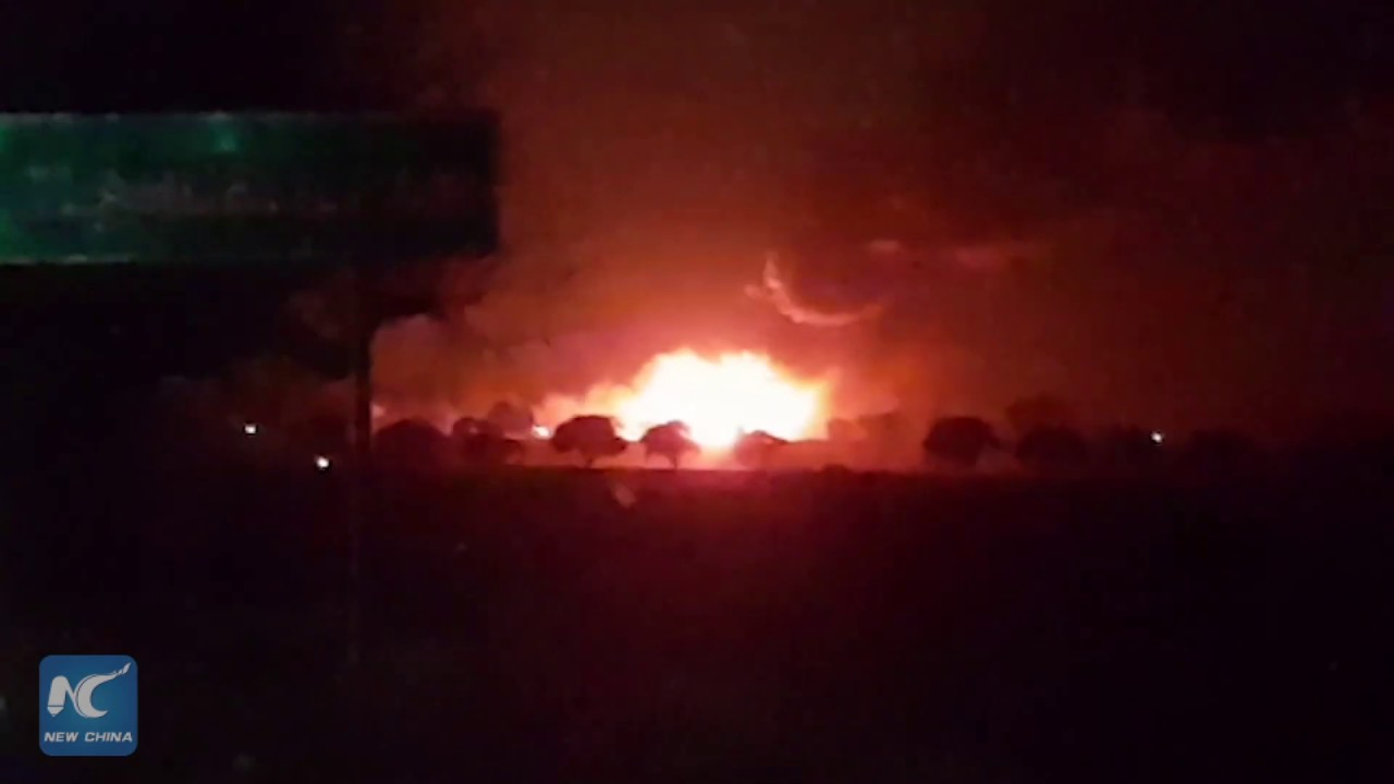 At least 20 killed in pipeline explosion in Central Mexico