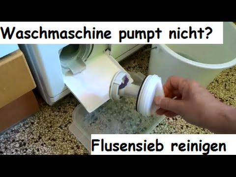 waschmaschine pumpt nicht flusensieb laugenfilter reinigen miele wt2780 youtube. Black Bedroom Furniture Sets. Home Design Ideas