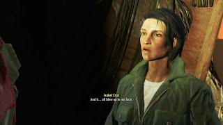 Fallout 4 - Automatron DLC - Isabel Cruz Explaining the Mechanist's Origins