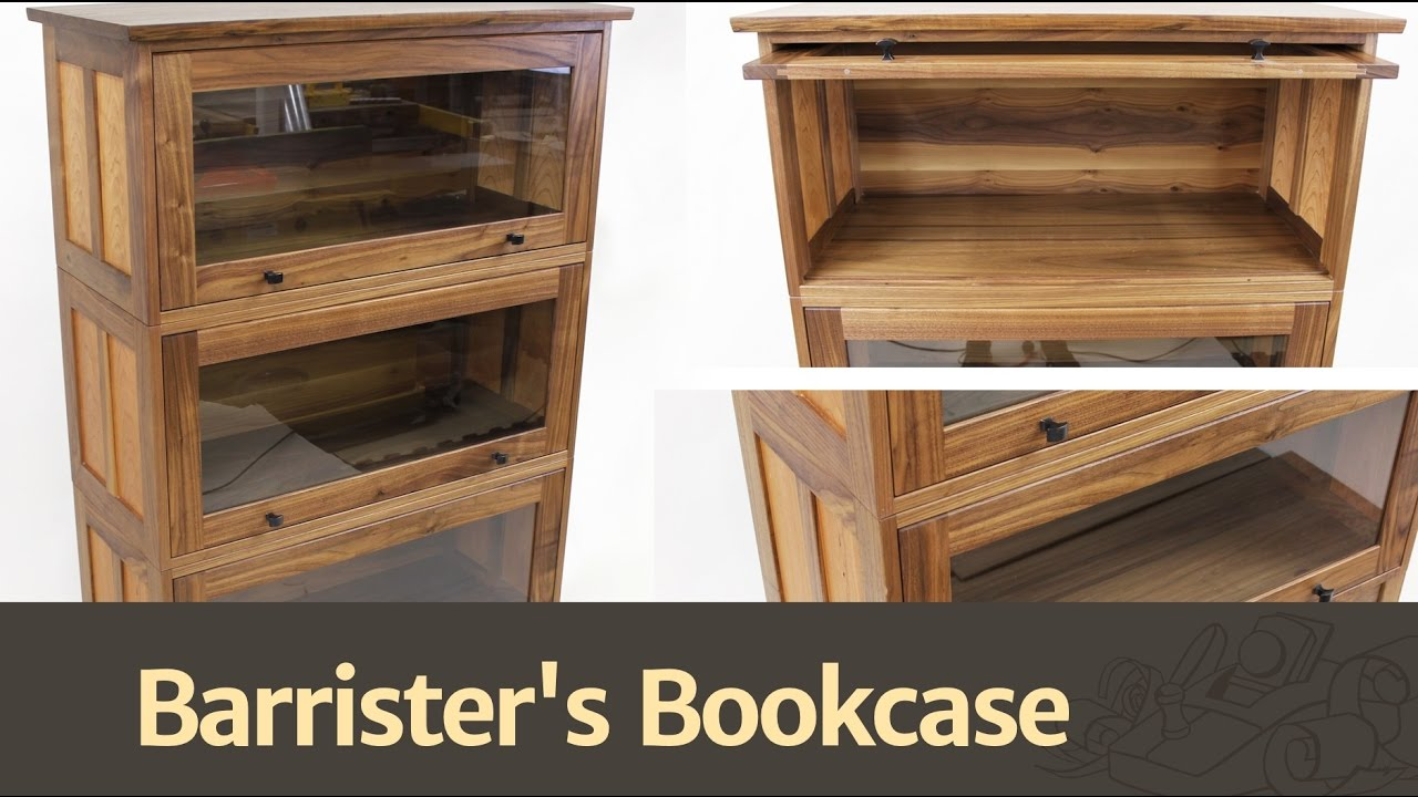 273 Barrister S Bookcase