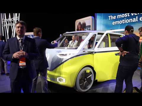 Volkswagen I.D. Buzz Concept at 2017 NAIAS Detroit Auto Show