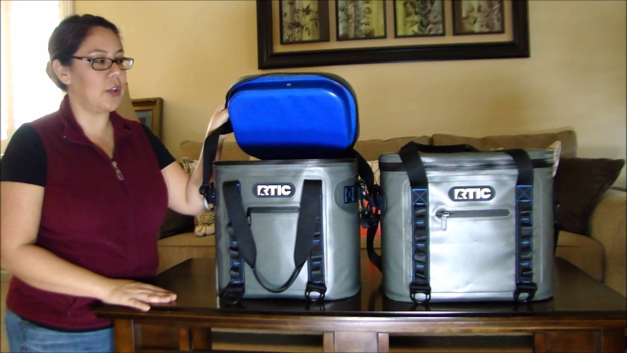 rtic 20 30 softpack coolers female review youtube
