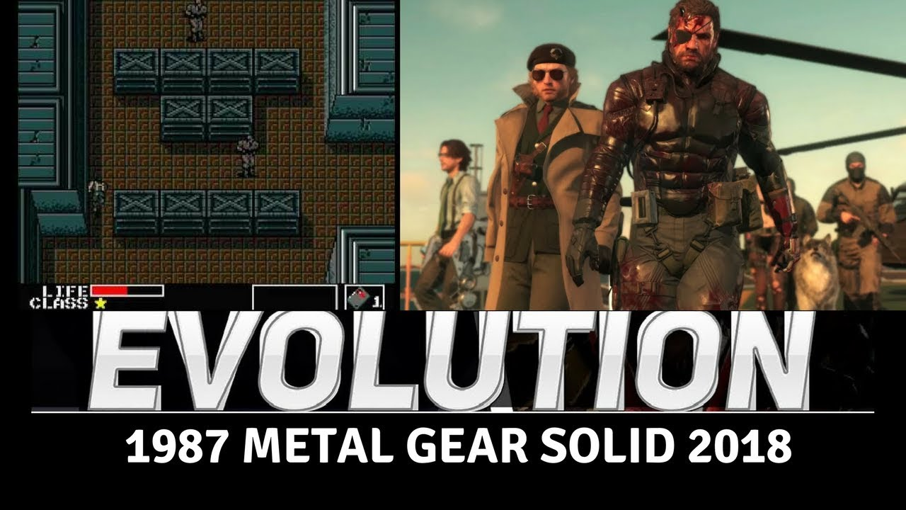 Evolution of Metal Gear Games 19872018 YouTube