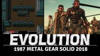 Evolution of Metal Gear Games 1987-2018