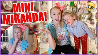 BABYSITTING MINI MIRANDA SINGS!! *Hilarious*