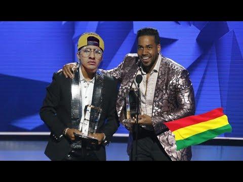 Boliviano Elias ayaviri Ganador Premios Billboard 2019