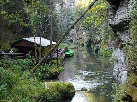 Most Amazing Places to Travel: Bohemian Switzerland - Divoka souteska - Dziki Wąwóz