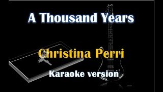 Christina Perri - A Thousand Years (Karaoke Version for valentine's day)