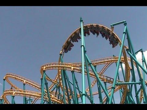 The Dominion San Antonio >> Poltergeist off-ride HD Six Flags Fiesta Texas - YouTube
