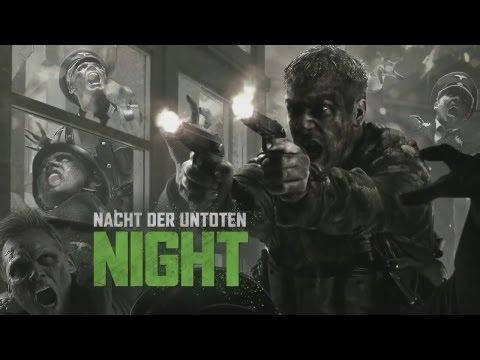 Black Ops Zombies: Nacht Der Untoten Gameplay! Rezurrection Map Pack ...