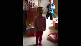 Big Brother video bombs Little Sister! Funny!