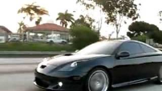 500whp Turbo Celica vs Stock Celica