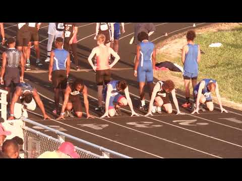 Dre Williams 100m prelim 2018 Greenville County Championships