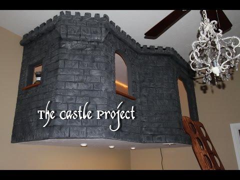 The Castle Project, DIY Kids Bedroom
