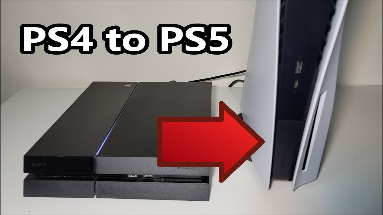 How to Transfer PS4 Data to PS5- Find the Menu (Saves, Games & Apps)