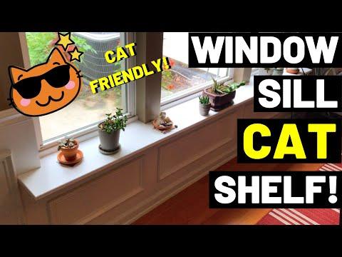 DIY Window Sill Shelf (Window Sill Extensions)