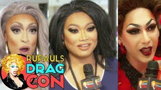Are you tucked? With Violet, Jujubee, Tatianna, Ongina & more at RuPaul's DragCon 2017