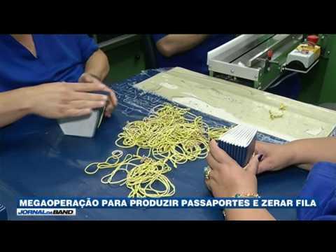 Casa da Moeda faz megaoperação para produzir passaportes