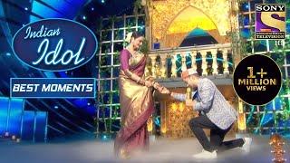 Pawandeep ने Rekha Ji के साथ दिया 'Aap Ki Ankhon Mein Kuch' पे Performance | Indian Idol Season 12