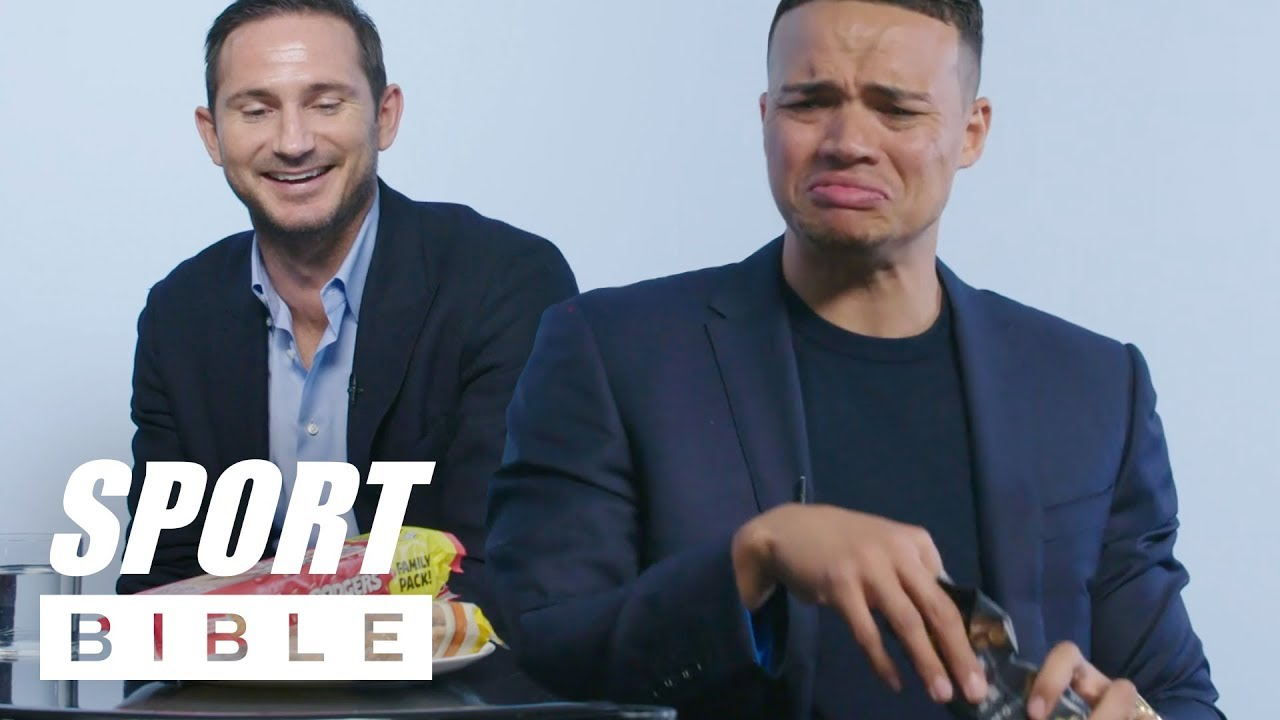 Frank Lampard And Jermaine Jenas Play Snack Wars: Russia World Cup Edition