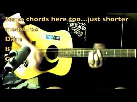 Dance All Night Guitar Tutorial - Dirty Heads ft. Matisyahu chords