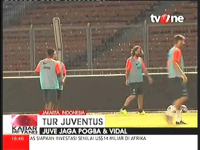 Tur Juventus Di Indonesia, Juve Pertahankan Pogba Dan Vidal
