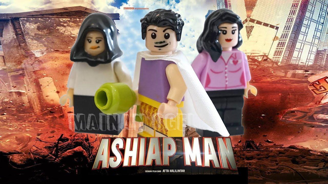 Ashiap Man Minifigures - Atta Halilintar Unofficial Lego [CUSTOM]