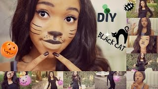 DIY Halloween CAT Costume!!!!!!!! Thumbnail