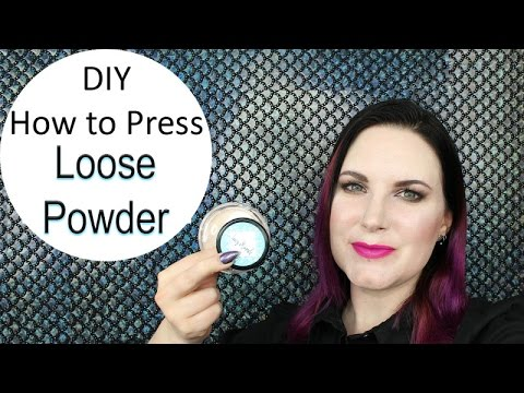 DIY How to Press Loose Powder Foundation | Mineral Makeup | Lucy Minerals | Cruelty Free | Phyrra