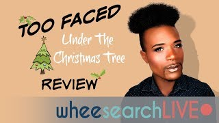 Too Faced Holiday Collection: Under the Christmas Tree (swatches)
