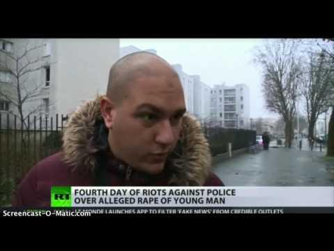 Shocking Anti Police Riots In Paris