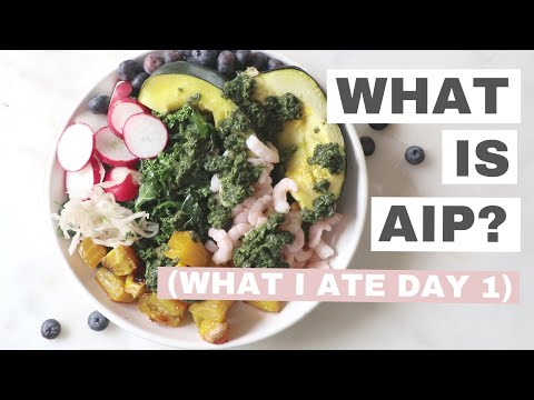What is the Autoimmune Paleo Protocol AIP | Day 1 What I ate on AIP