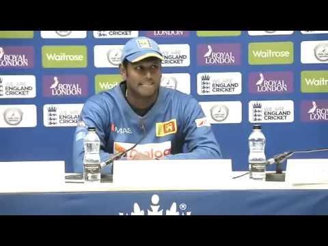 Sri Lanka v England 5th ODI, Post match Press Conference - Angelo Mathews