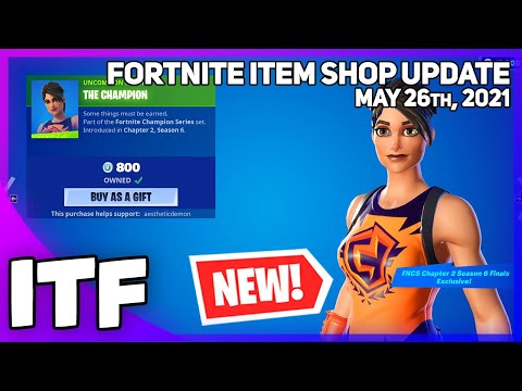 Fortnite Item Shop *NEW* TYPICAL GAMER LOCKER + *NEW* EXCLUSIVE SKIN! [May 26th, 2021]