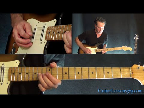 Beat It Guitar Instrumental Lesson - Michael Jackson