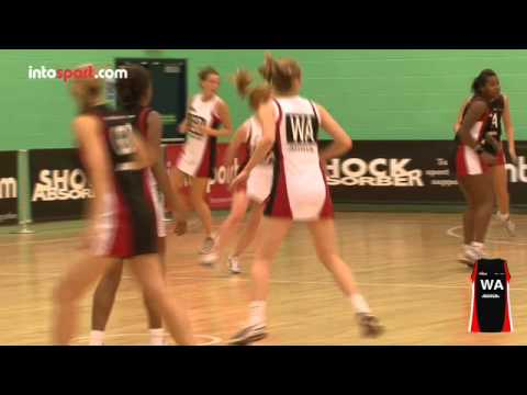 Netball Game: Wing Attack Position Guide