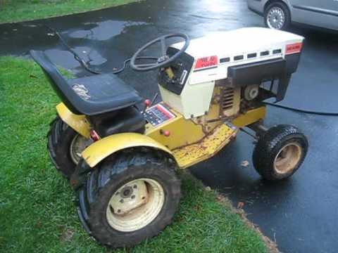 1977 Sears Suburban 18 6 Garden Tractor Youtube