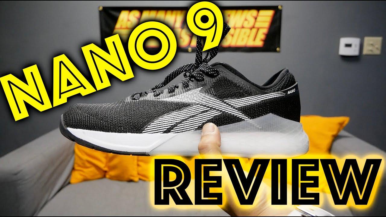 Reebok Nano 9 Review - YouTube