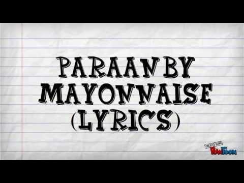 Paraan lyrics by Mayonnaise