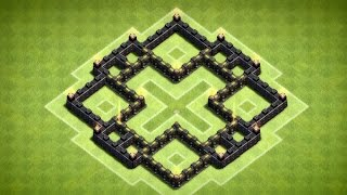 Clash of Clans - Nice Town Hall 5 Farming Base