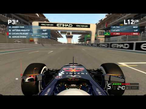 F1 Pro Romania - Season 2 - Abu Dhabi