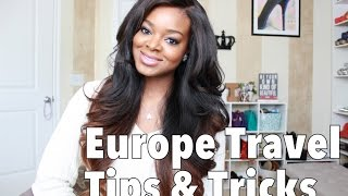 European Travel Tips & Tricks | How I planned my summer vacation