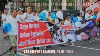 Slideshow Pawai Anti Tembakau Sedunia 2016