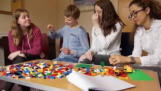 Lego based therapy for autism