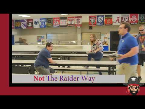 Royal Palm Middle School The Raider Way PBIS Cafeteria Expectations Video